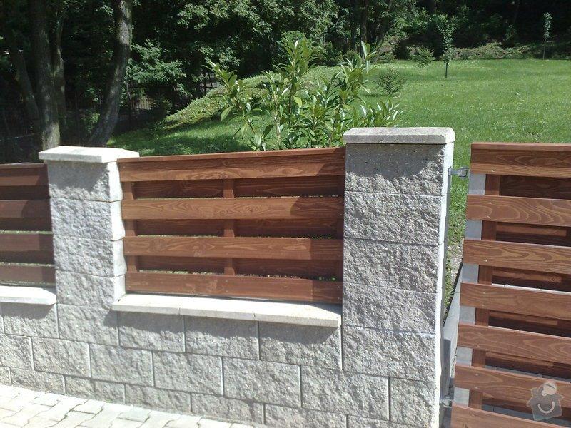 Výroba pole plotu + obložení branky : 25082010054