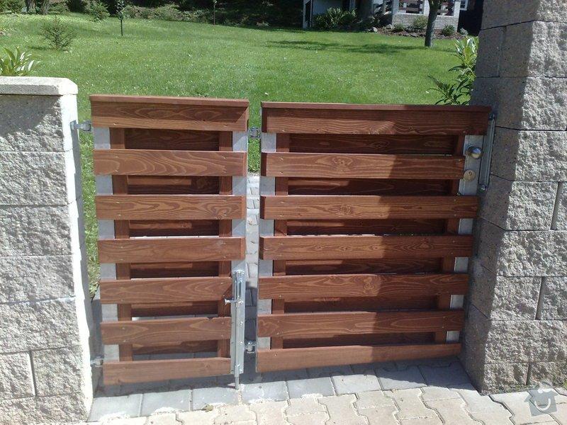 Výroba pole plotu + obložení branky : 25082010055