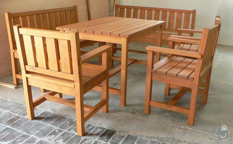 Zahradní nábytek na míru: g06