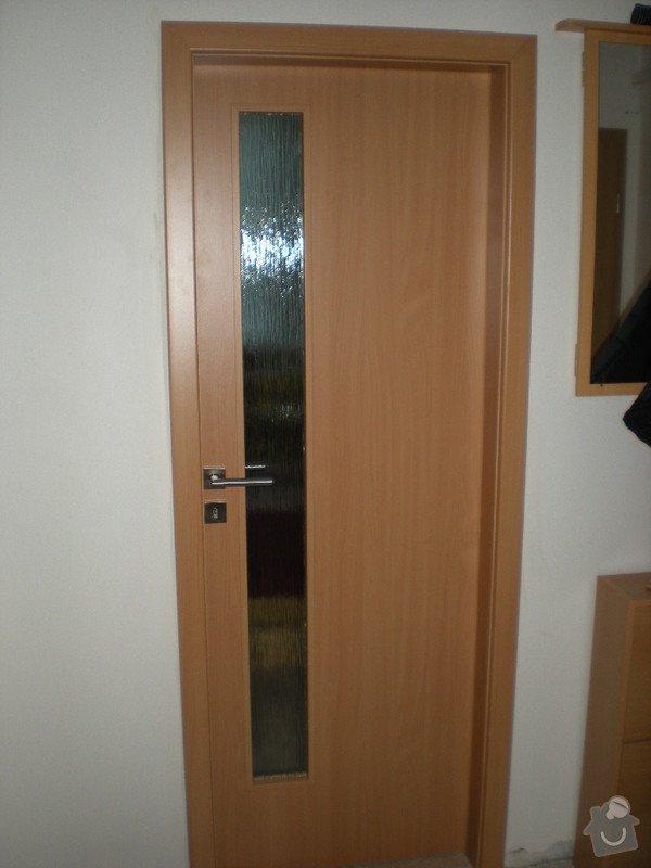 Kompletní dodávka bezpečnostních ,vnitřních,posuvných i shrnovacích dveří: DSCN3649