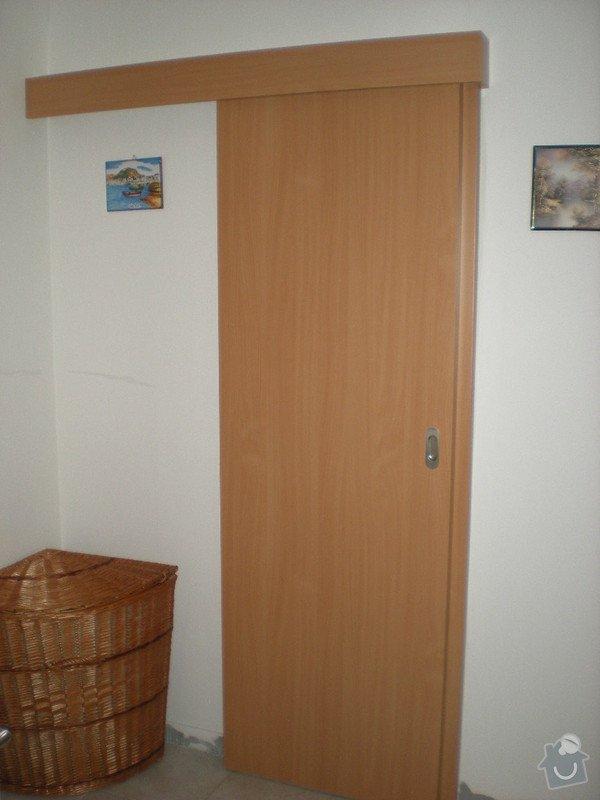 Kompletní dodávka bezpečnostních ,vnitřních,posuvných i shrnovacích dveří: DSCN3650