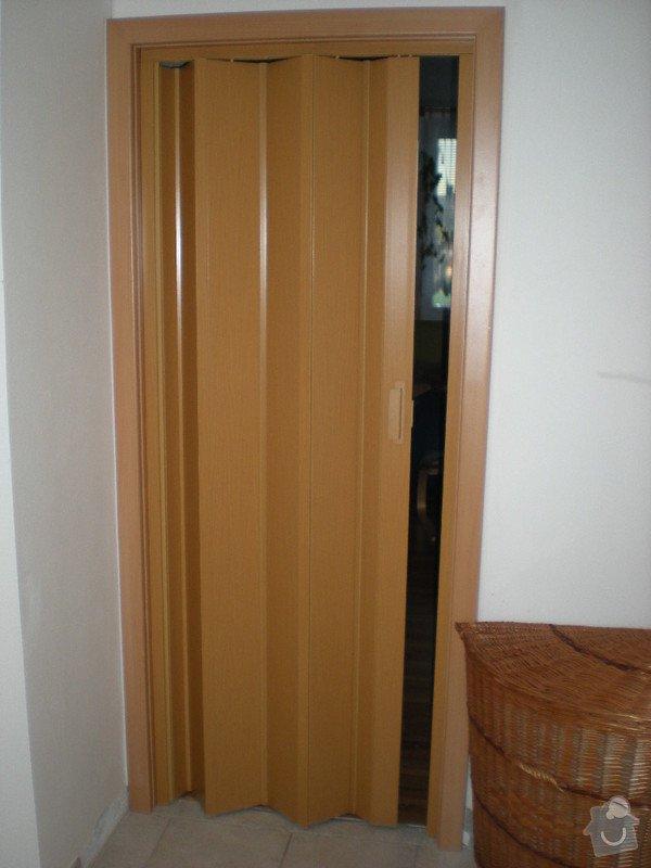 Kompletní dodávka bezpečnostních ,vnitřních,posuvných i shrnovacích dveří: DSCN3651