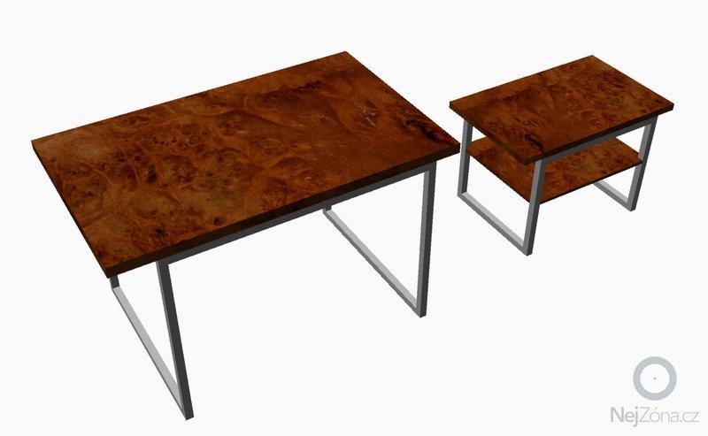 Kuchyňký stůl, konferenční stolek: stul_pro_M2