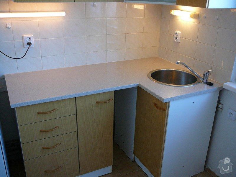 Vyměna desky kuchyňské linky: KuchDesS9-11