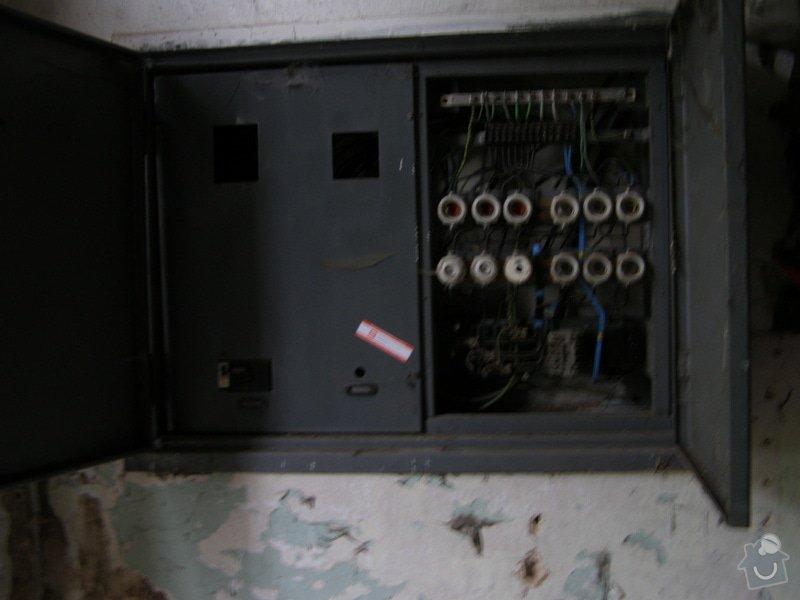 Elektrikář - obnova rozvaděče: elektrika_rozvodna