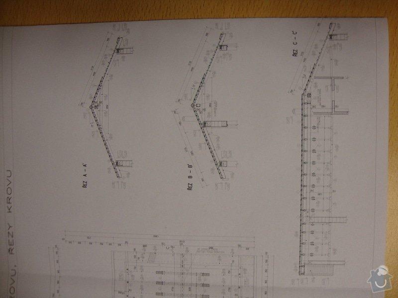 Dodávku a položení plechové krytiny: krov2