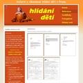 Vytvoreni webovych stranek pro sluzbu hlidani deti hlidani deti 102
