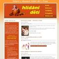 Vytvoreni webovych stranek pro sluzbu hlidani deti hlidani deti 105