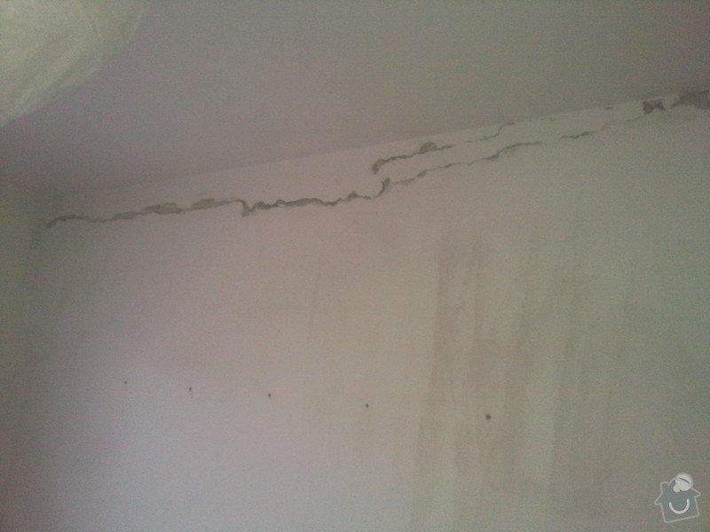 Renovace popraskaných nosných stěn v novostavbě: Fotografie001