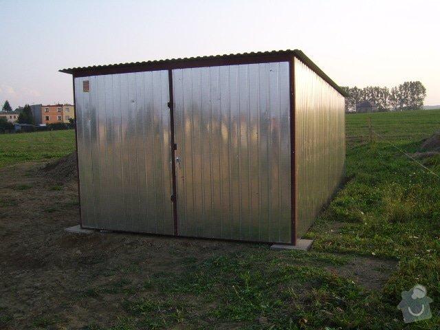 Plechová montovaná garáž: SSA42507