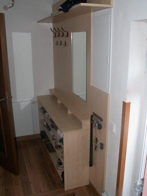 Výroba botníku a obložení stěny: Botnik