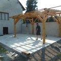 Renovace fasady zhotoveni plotu zamkove dlazby pergola p1040350