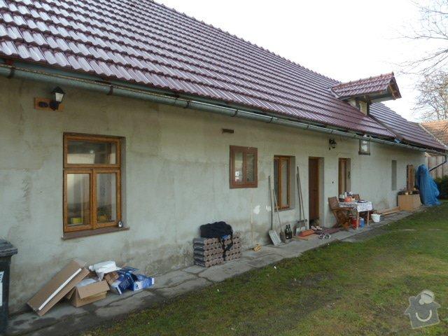 Oprava fasády, zámková dlažba: P1030410