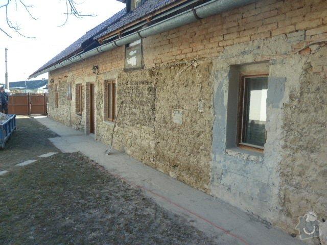 Oprava fasády, zámková dlažba: P1030717