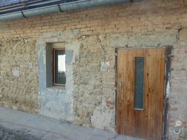 Oprava fasády, zámková dlažba: P1030719