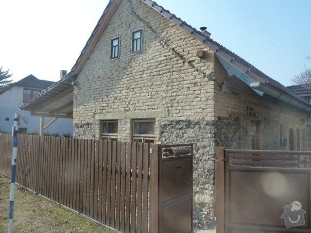 Oprava fasády, zámková dlažba: P1030724