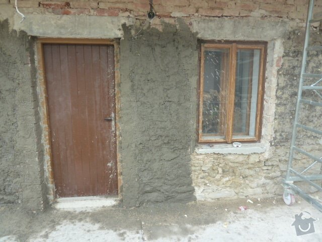 Oprava fasády, zámková dlažba: P1030748