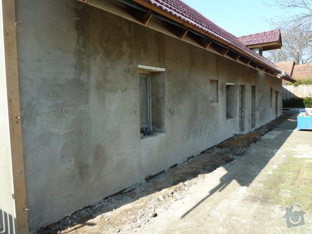 Oprava fasády, zámková dlažba: P1030938