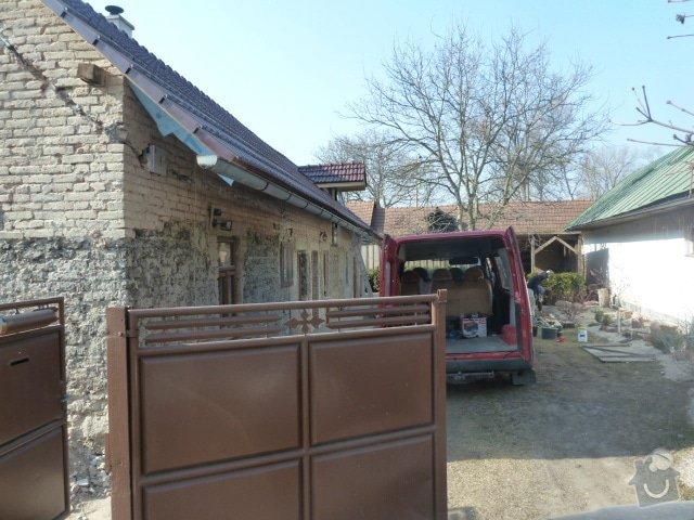 Oprava fasády, zámková dlažba: P1030725