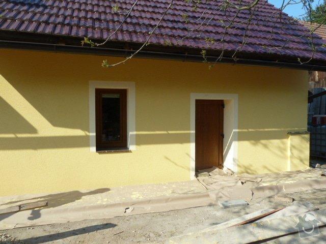 Oprava fasády, zámková dlažba: P1040369