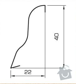 Pokládka podlahových lišt pro 1 pokoj: Obr2