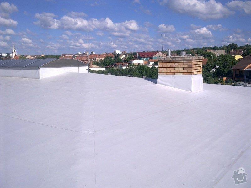 Izolace střechy na firmě ESTA, spol. s r.o. Ivančice: Obraz0151