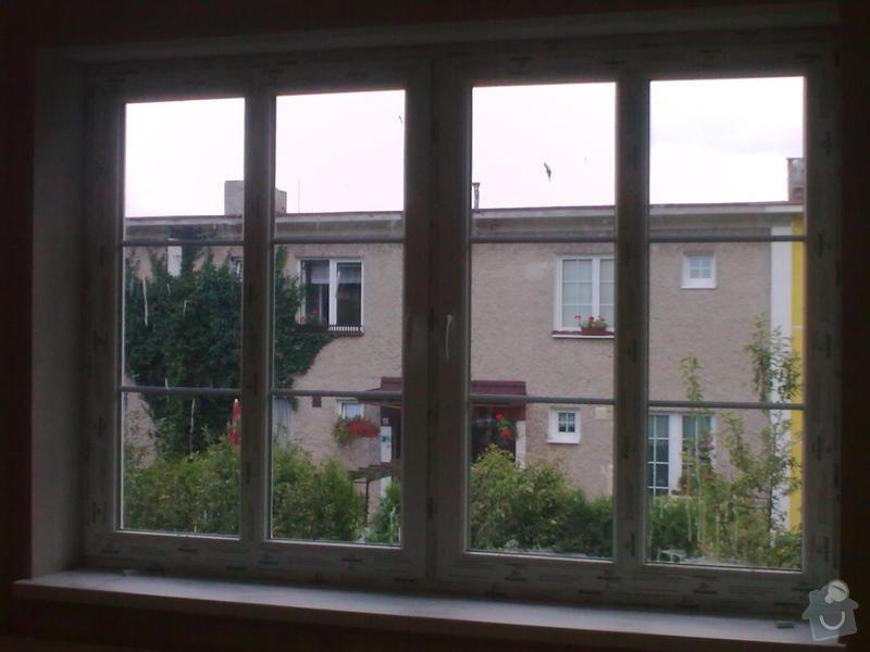 Plastová okna: vnitrek