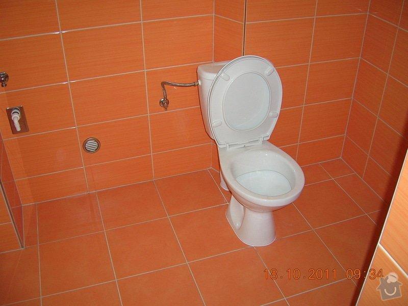 Rekonstrukce koupelny a WC: DSCN4154
