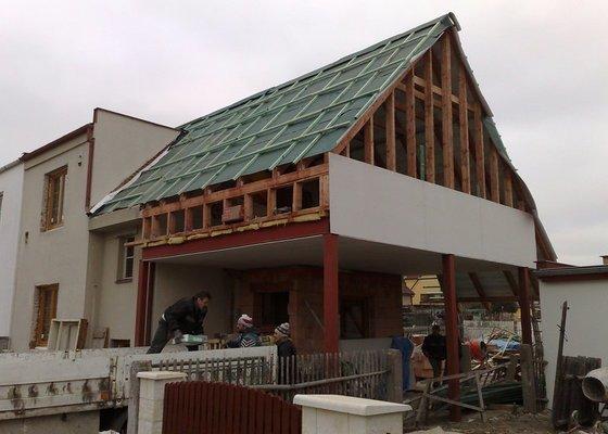 Dřevokonstrukce, rekonstrukce RD na klíč