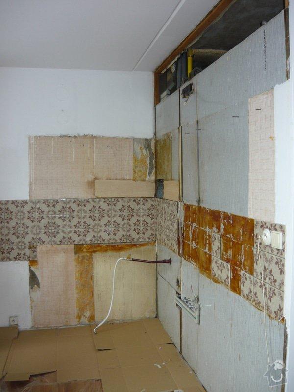 Rekonstrukce kuchyňské linky: P1000103