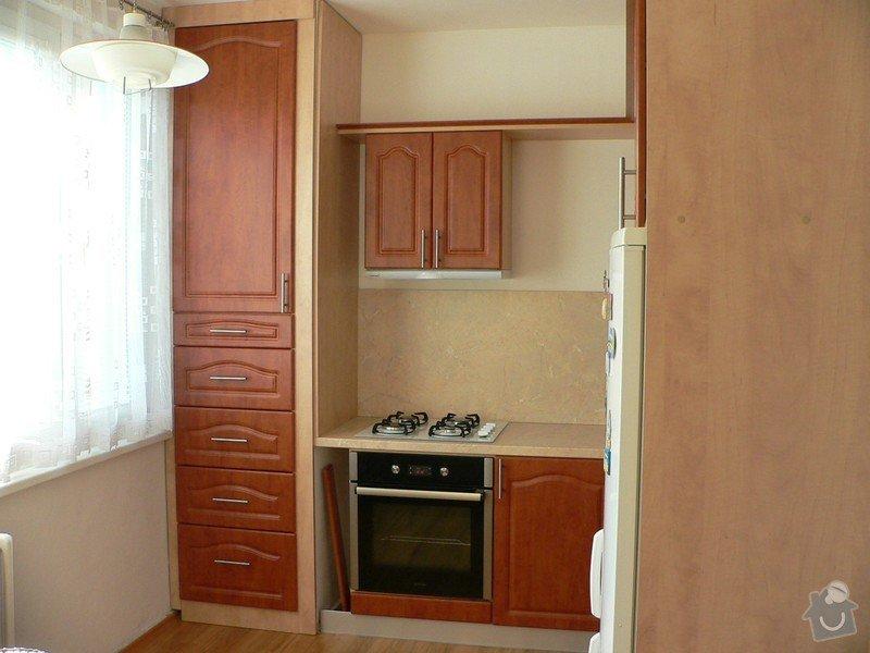 Rekonstrukce kuchyňské linky: 1