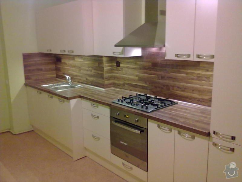 Výroba + montáž kuchyňské linky: 20102011312