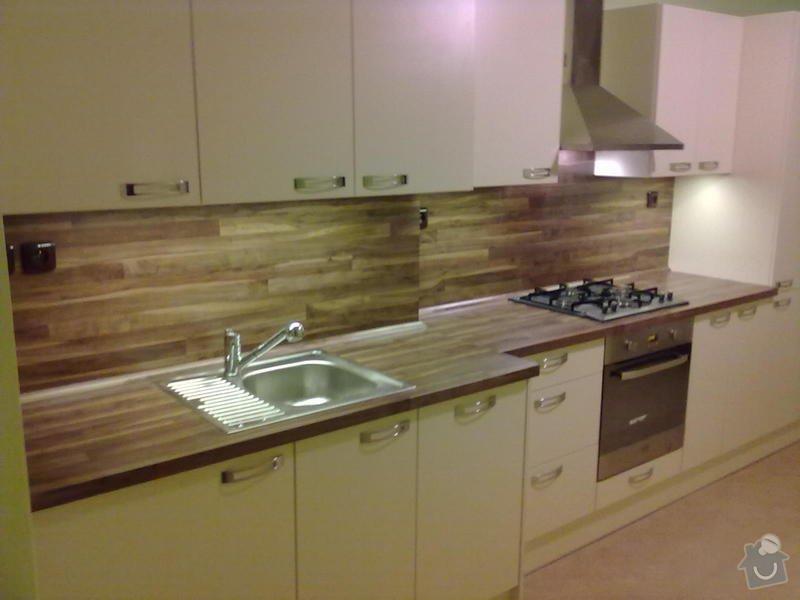Výroba + montáž kuchyňské linky: 20102011311