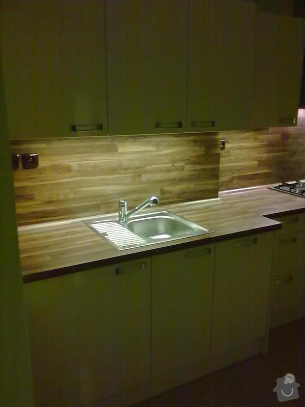 Výroba + montáž kuchyňské linky: 20102011310