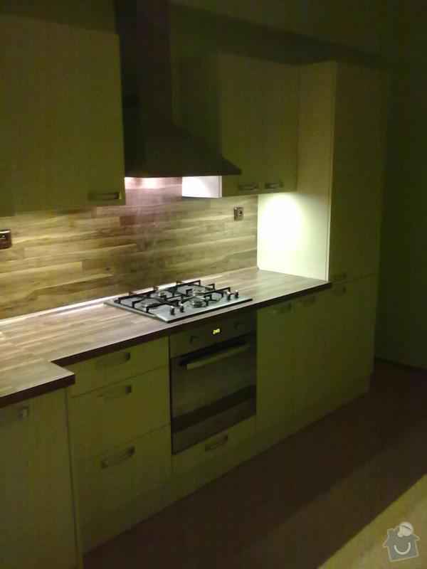 Výroba + montáž kuchyňské linky: 20102011309