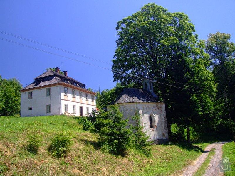 Zednické práce: zamecek_1773