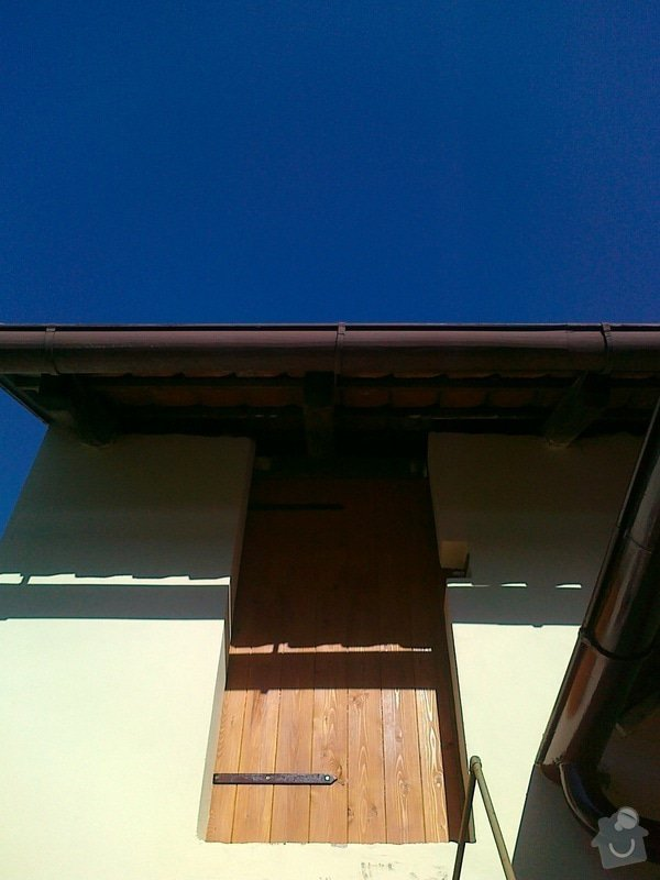 Pracovní deska, dveře do stodoly: 01102011188