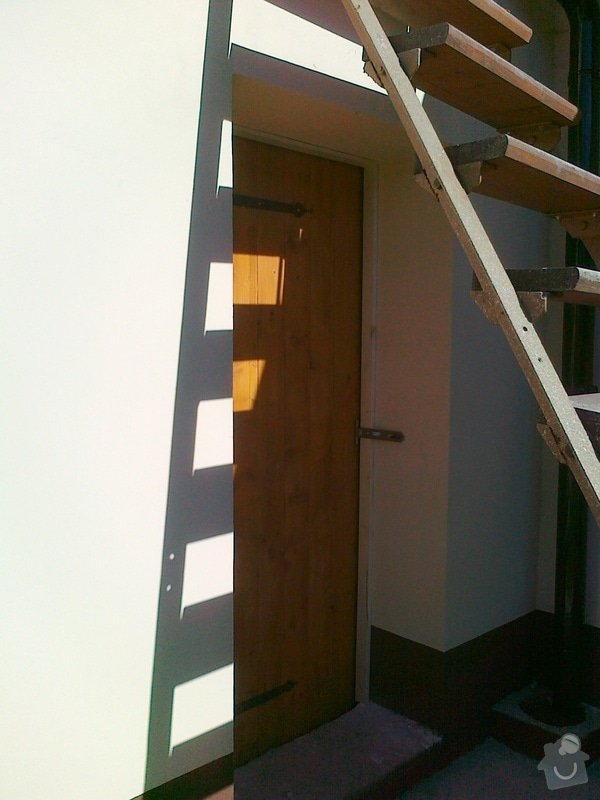 Pracovní deska, dveře do stodoly: 01102011189