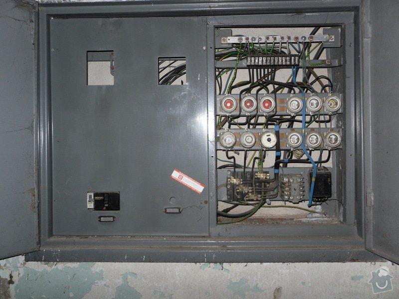 Elektrikář - obnova rozvaděče: SDC10481