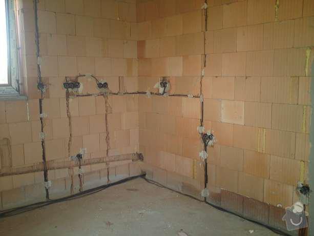 Kompletní elektroinstalace v rodinném domě: DSC00455