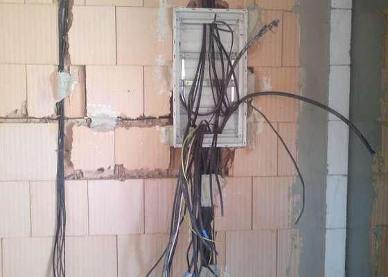 Kompletní elektroinstalace v rodinném domě