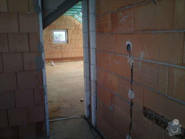Kompletní elektroinstalace v rodinném domě: DSC00461
