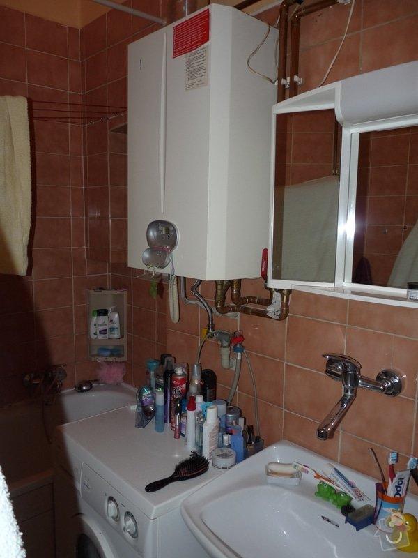 Snížení stropů v koupelně sádrokartonem: P1020778