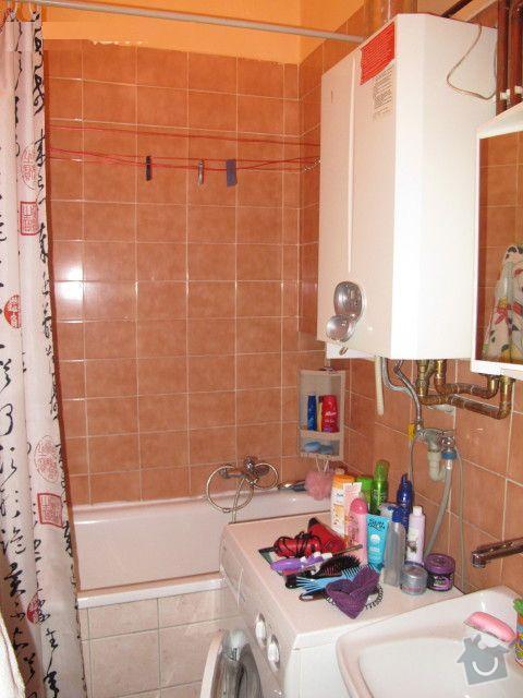 Snížení stropů v koupelně sádrokartonem: 5