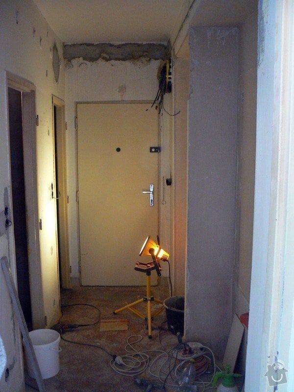 Rekonstrukce bytového jádra v bytě 2+1, 3. NP: P1030684_R