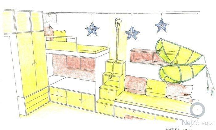 Návrh dětského pokoje: Pokojik3