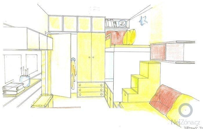 Návrh dětského pokoje: Pokojik1