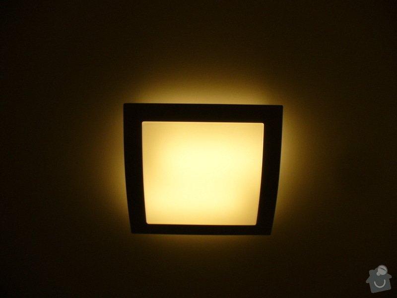 Kompletni interierove osvetleni do rodinneho domu: P1050868