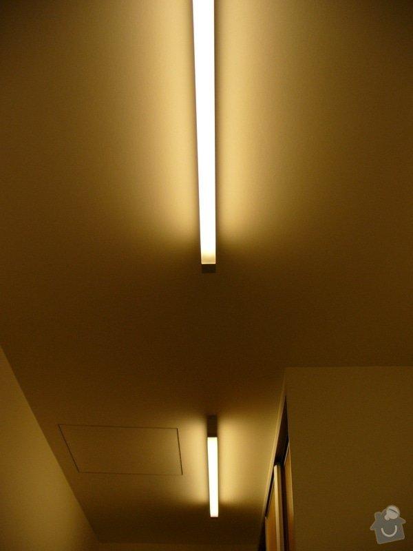 Kompletni interierove osvetleni do rodinneho domu: P1050870