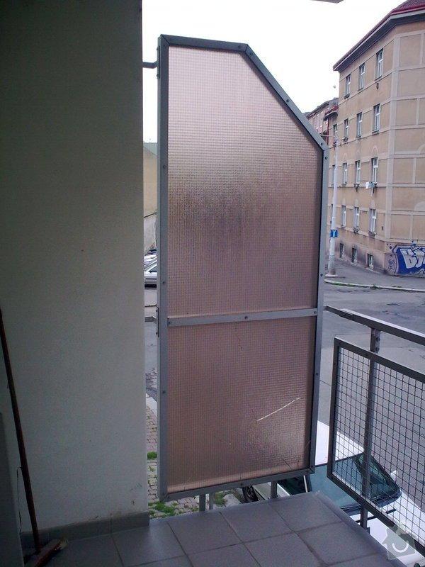 Přestavba balkonu na zimní zahradu: Image0313